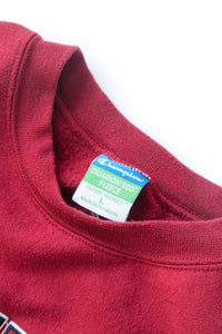 "VINTAGE CHAMPION SWEATSHIRT ""EDINBORO"" RED"