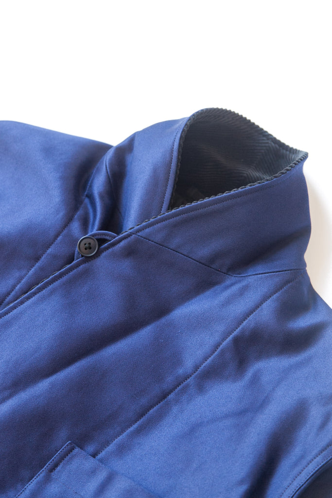 SLEEPING HALF COAT FRENCH BLUE