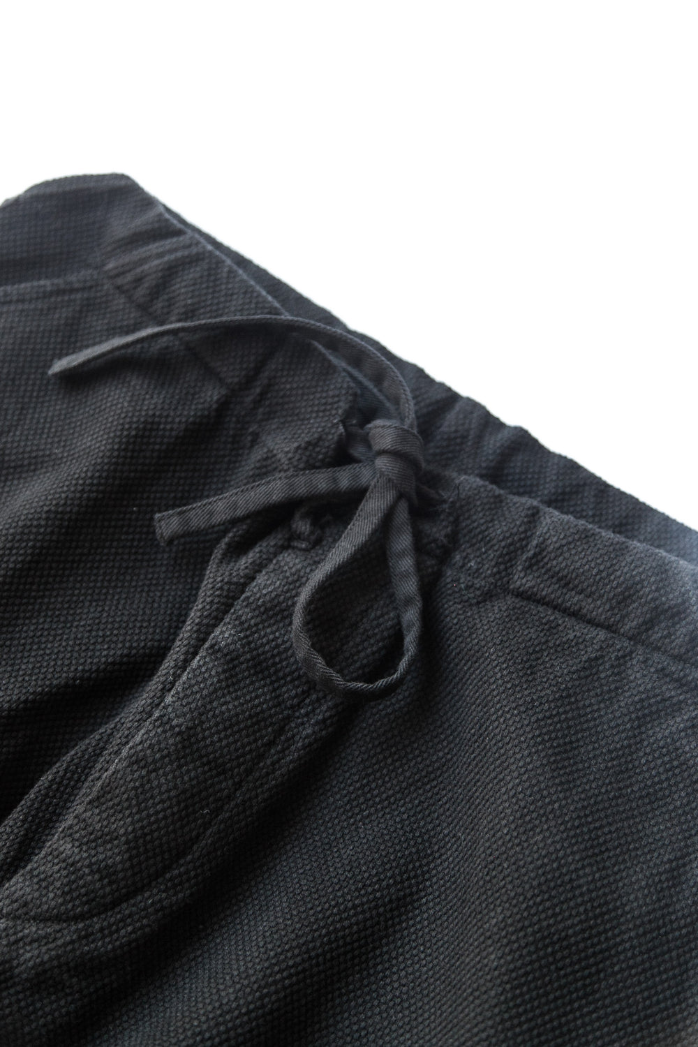SASHIKO JUDO PANTS BLACK