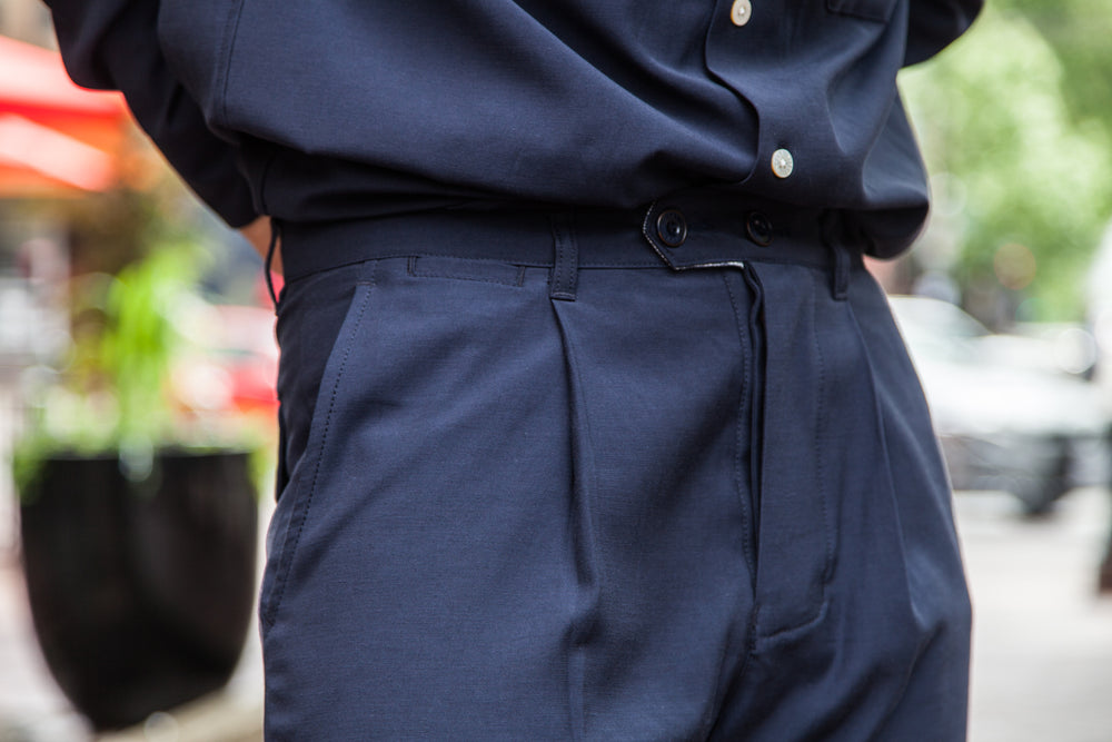 HOLIDAY TROUSER - NAVY