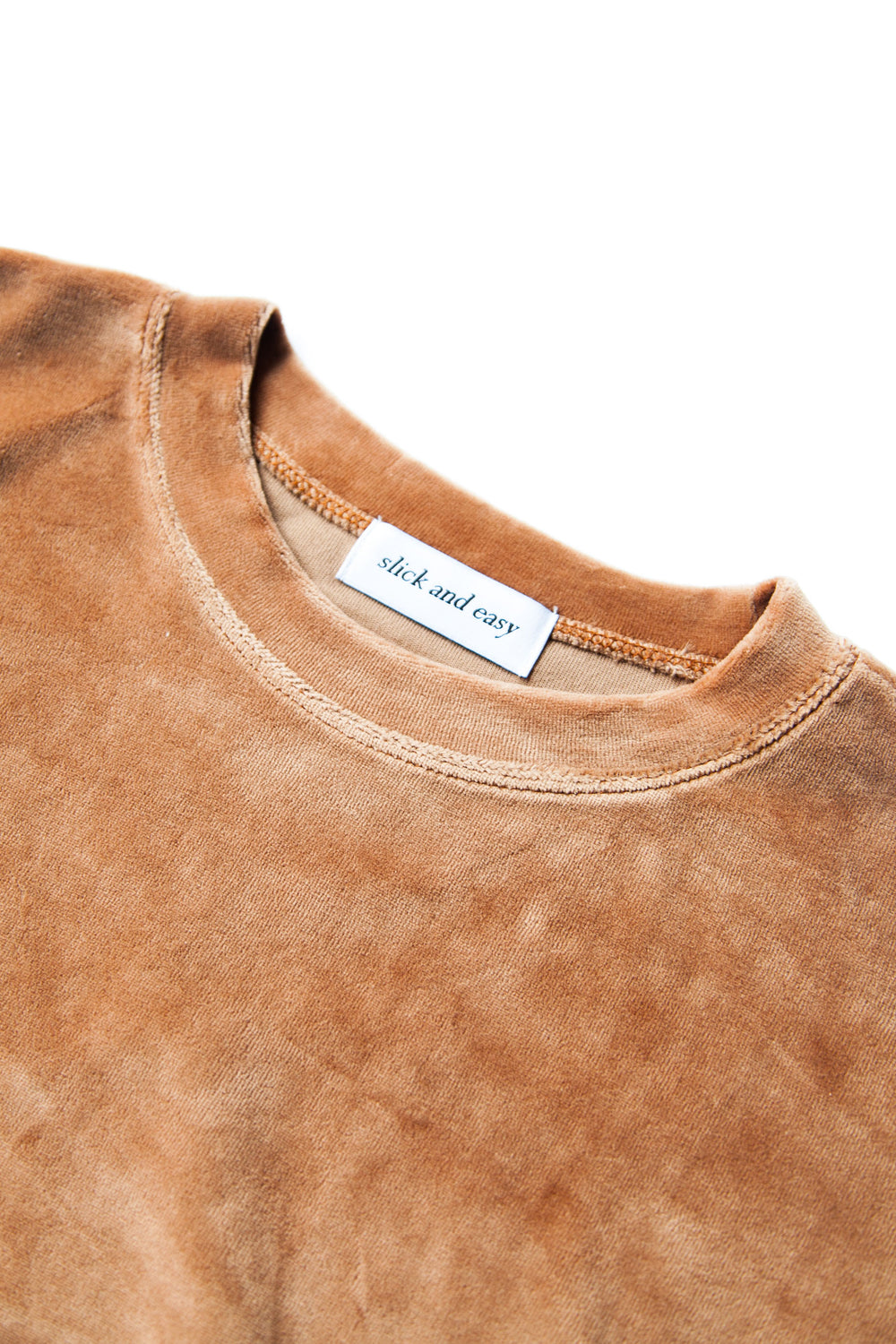 VELOUR SWEAT TED