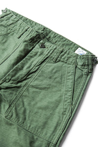 US ARMY SLIM FIT FATIGUE PANTS GREEN