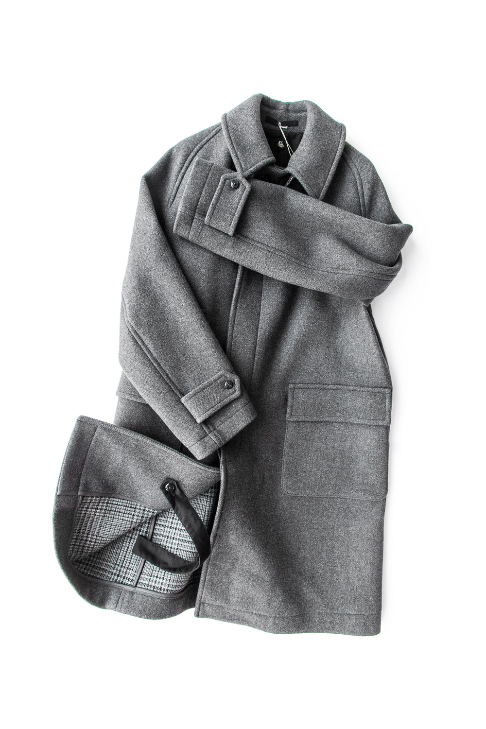 TRAVELER COAT GREY