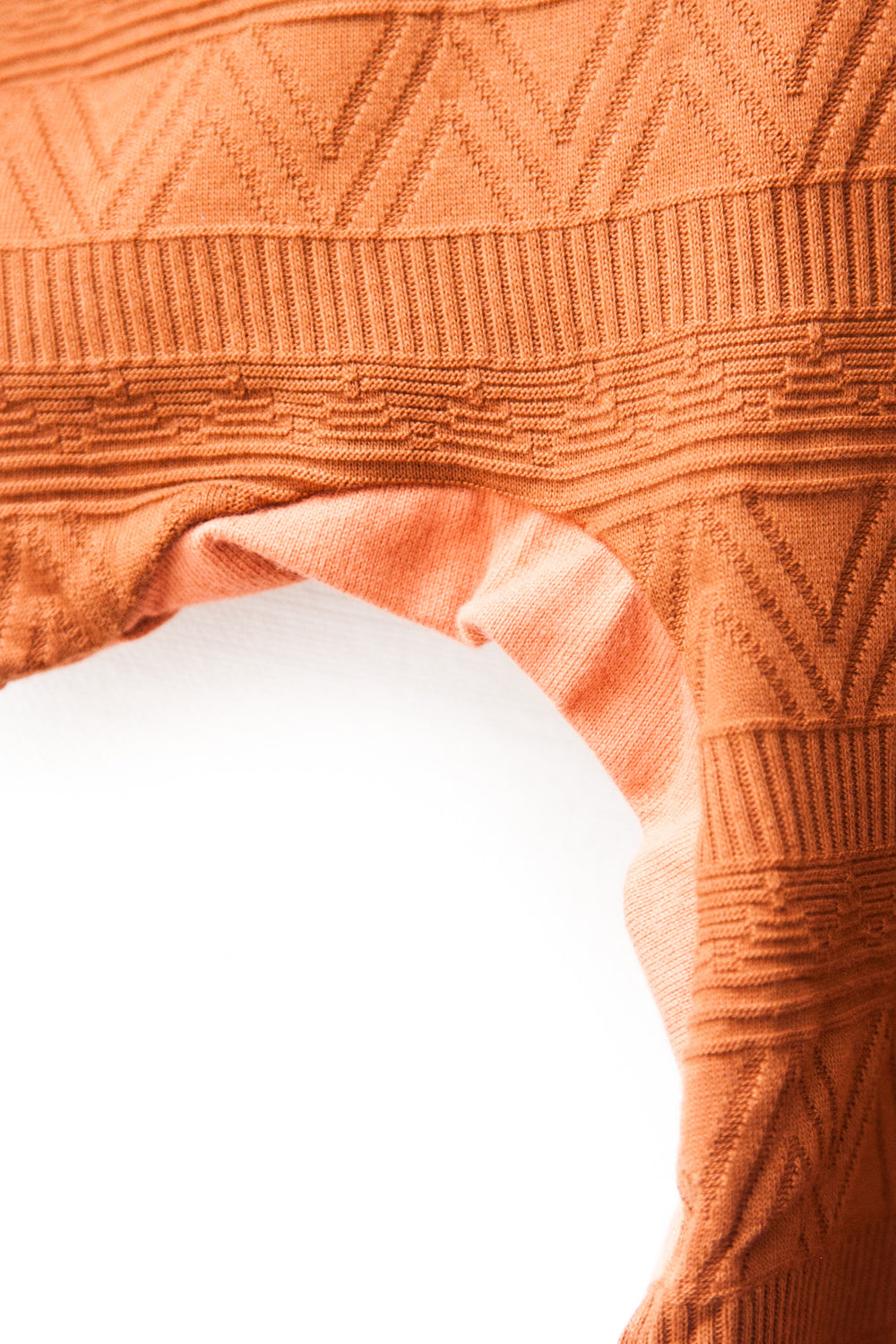 "DOLMAN SLEEVE TEE ""ORANGE"""