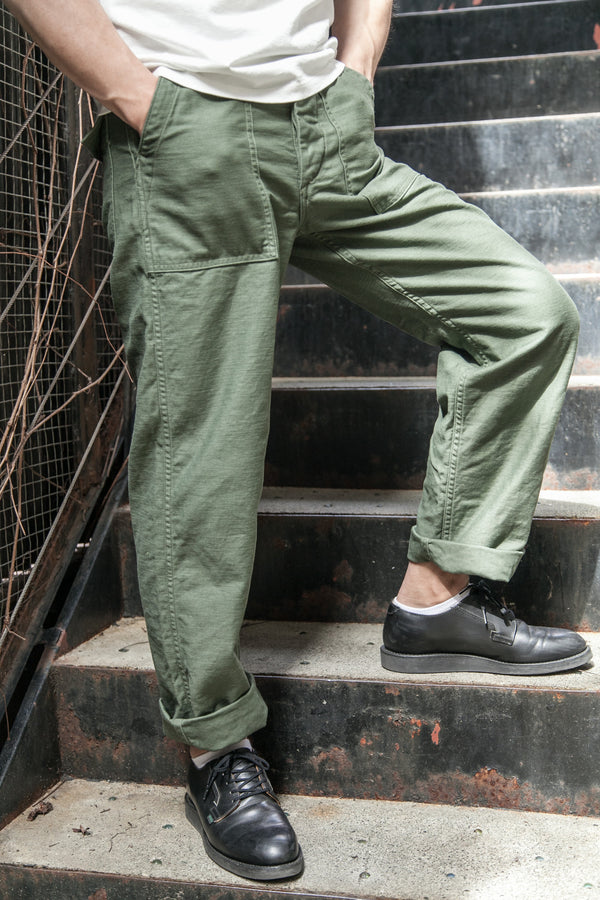 US ARMY 'STANDARD FIT' FATIGUE PANTS – OD GREEN