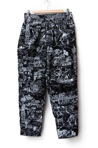 "EASY PANTS ""SURF PRINT"""