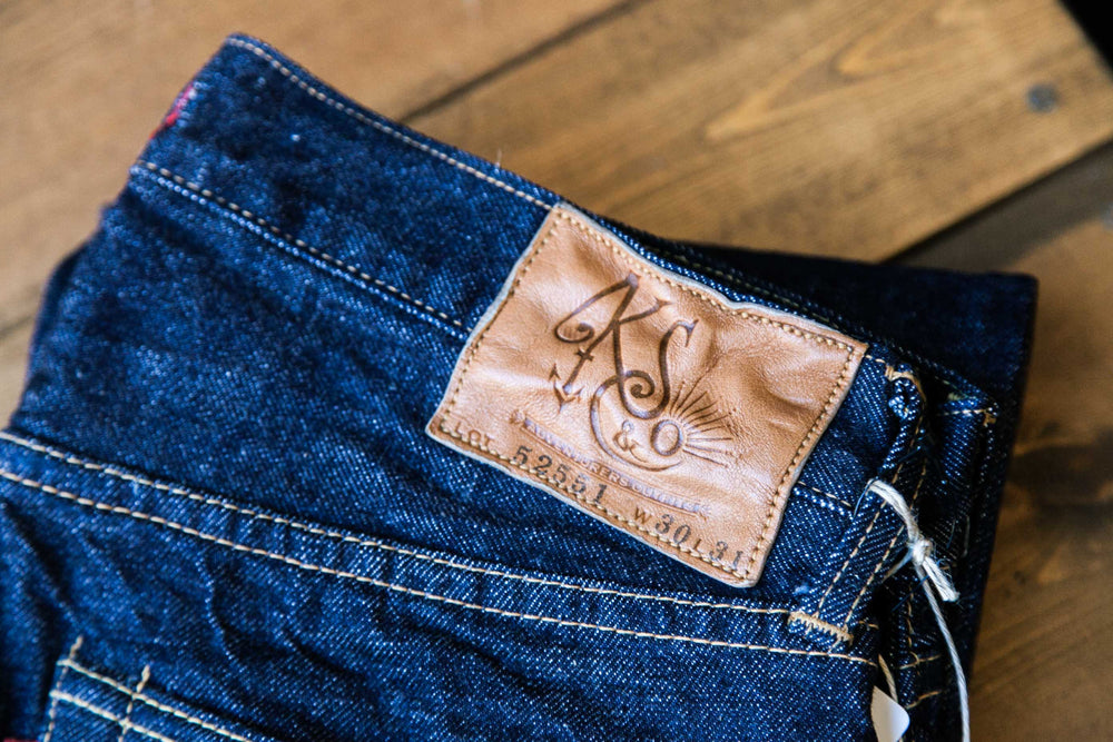 EAST COAST FIT SELVEDGE DENIM - INDIGO ONE WASH