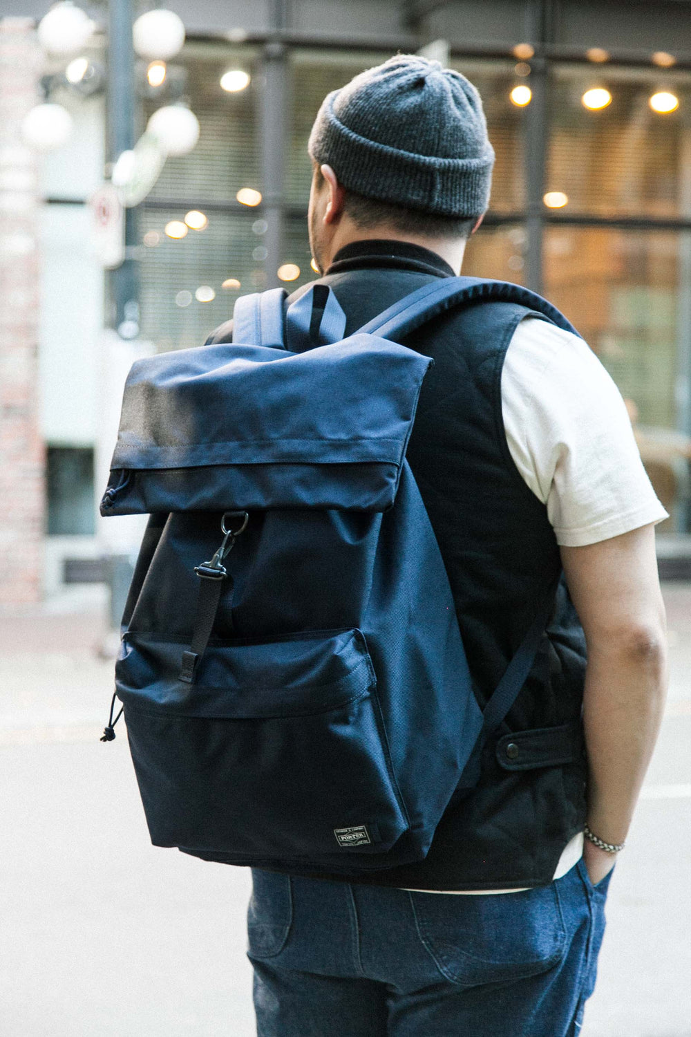 [KAPTAIN SUNSHINE x PORTER] DAY TRIPPER - NAVY
