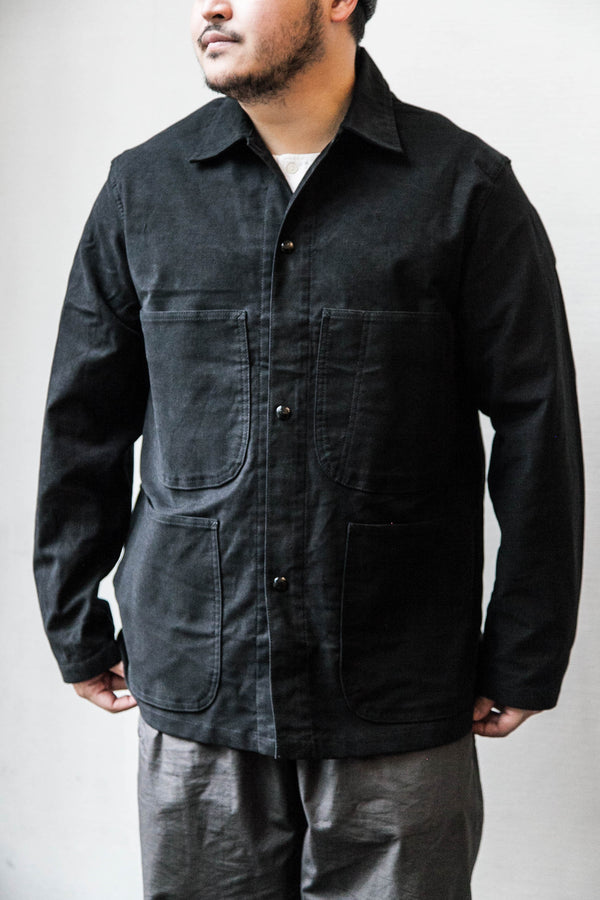 UTILITY COVERALL - BLACK