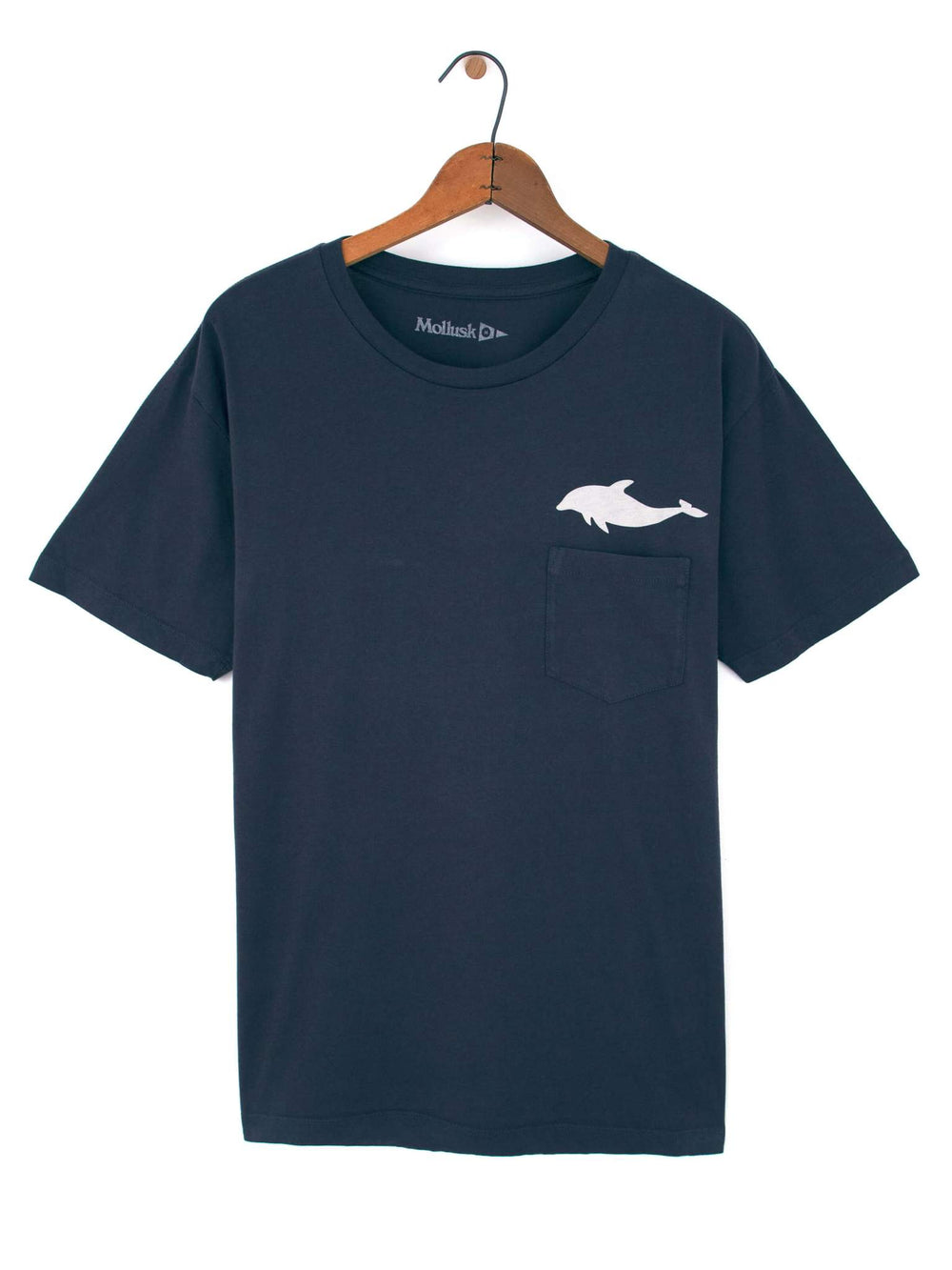"DOLPHIN TEE ""FADED NAVY"""