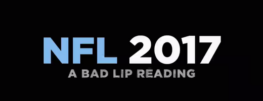NFL 2017 - Bad Lip Reading