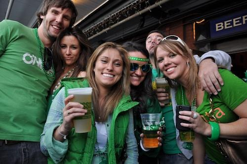 If you are Swinging around RI, Top 10 Places to Go on St. Patrick's Day Weekend