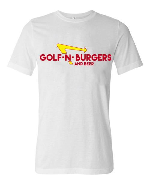 Golf N Burgers Short Sleeve Tee