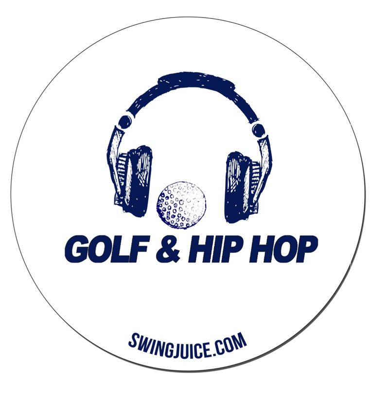 Golf & Hip Hop Sticker