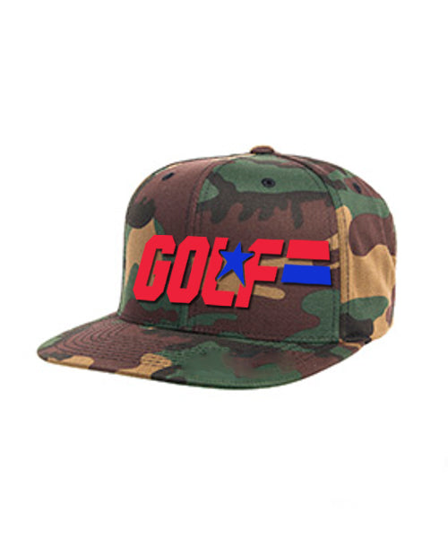 GI GOLF snapback Hat