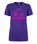 Women's Golf & Hip Hop Short Sleeve Tee