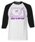 Golf & Hip Hop 3/4 Length Raglan Tee