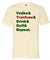 Vodka Transfuse Drink Golf Repeat Short Sleeve Tee