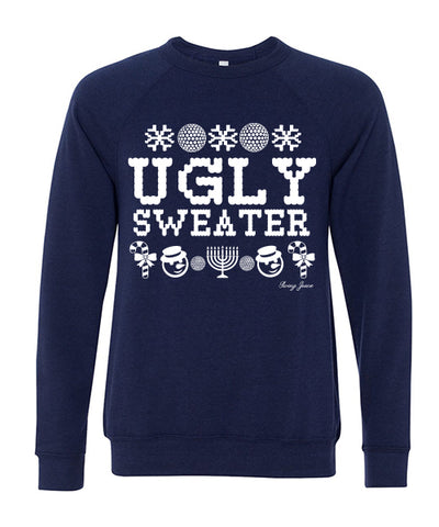 Hanukkah Ugly Sweater Long Sleeve Sweatshirt