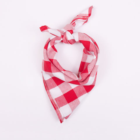 Neckerchief - Red Check
