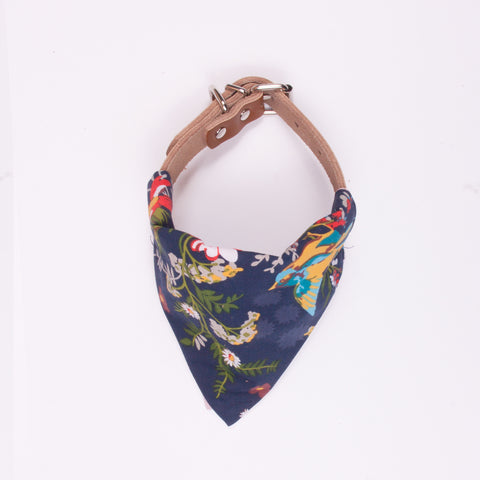 Neckerchief for Collar - Floral