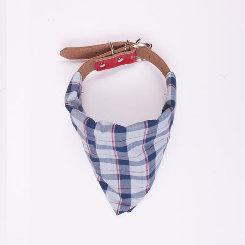 Neckerchief for Collar - Check
