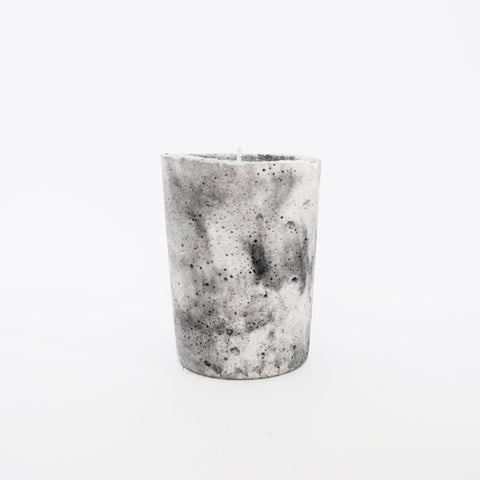 Marbled Conrete Candle - Sandalwood