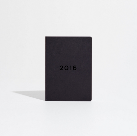 40% OFF - Soft Cover Diary 2016 - Black