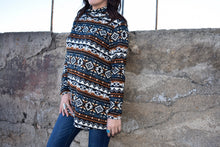Load image into Gallery viewer, The Hailey Aztec Sweater
