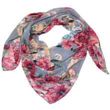 Load image into Gallery viewer, Blue Sage Rose Wild Rag