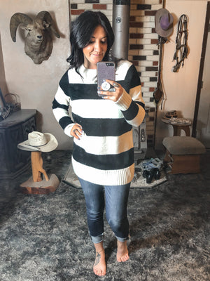 Matayia Striped Sweater