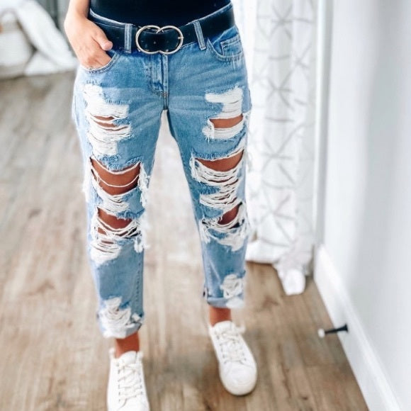 Boyfriend Distressed Jean