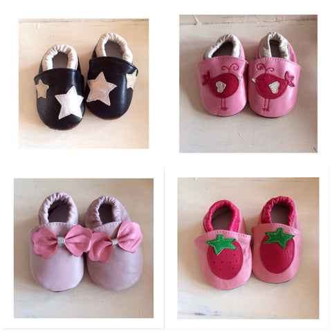 Baby Soft Sole Leather Shoes