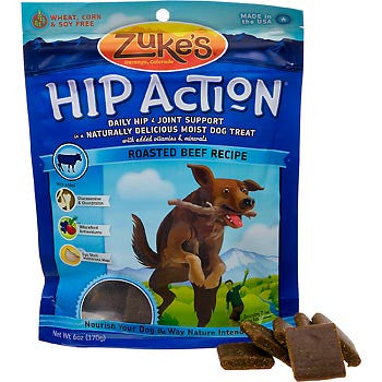 Zuke's Hip Action Beef Dog Treats