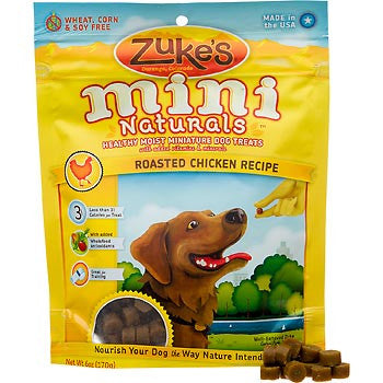 Zuke's Mini Natural Chicken Dog Treats