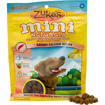 Zuke's Mini Natural Salmon Dog Treats