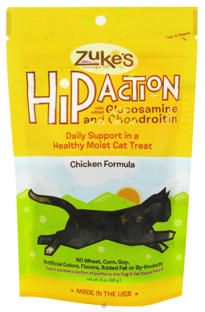 Zuke's Hip Action Chicken Cat Treats