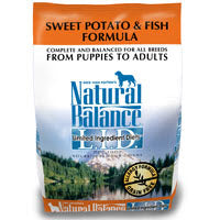 Natural Balance Limited Ingredient Diet Sweet Potato & Fish Formula for Dogs