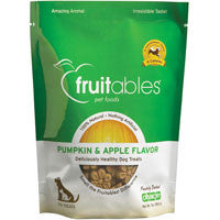 Fruitables All Natural Pumpkin & Apple Flavored Dog Treats