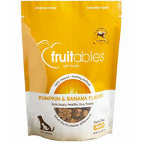 Fruitables All Natural Pumpkin & Banana Flavored Dog Treats