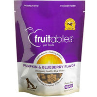 Fruitables All Natural Pumpkin & Blueberry Flavored Dog Treats