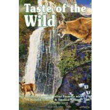 Taste of the Wild Rocky Mountain Feline Formula Roasted Venison & Smoked Salmon Dry Cat Food