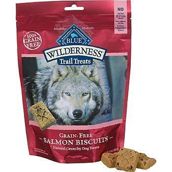Blue Buffalo Wilderness Trail Treats Salmon Biscuits 10oz