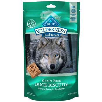 Blue Buffalo Wilderness Trail Treats Duck Biscuits 10oz