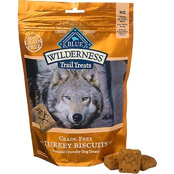 Blue Buffalo Wilderness Trail Treats Turkey Biscuits 10oz