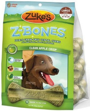 Zuke's Z-Bones Clean Apple Crisp