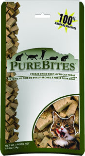 Purebites Freeze Dried Beef Liver for Cats
