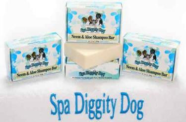 Spa Diggity Dog Neem & Aloe Shampoo Bar