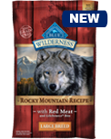 Blue Wilderness Rocky Mountain Recipe with Red Meat Large Breed Formula
