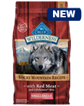 Blue Wilderness Rocky Mountain Recipe with Red Meat Small Breed Formula